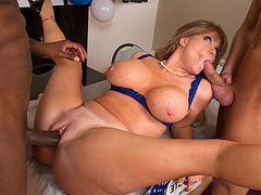 Darla Crane & Bill Bailey & Jon Jon in My Friends Hot Mom