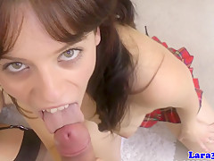 Britsh milf lures holy babe home for lez fun