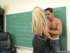 Ms. Faith getting fucked on her desk