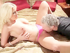 Big Tit Milf Crazy Blowjob Ball Lick Rimjob Cum in Mouth