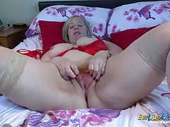 EuropeMaturE Shooting Star Solo Masturbation