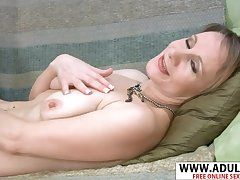 Realy Accurate MILF Tiffany Relaxes After Orgasm