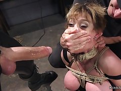 Bulky jugs Housewife sodomized gangbang bdsm