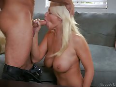 Tanned veritably flexible and buxom GF London River enjoys some good cuni