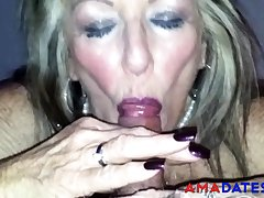 Old British Tart Blowjob 2