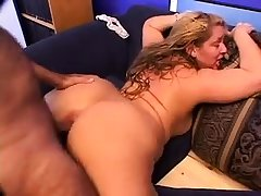 Blonde granny GILF adult doggystyle sex