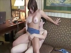 Amateurs couple fucks to the fullest extent a finally a friend films it