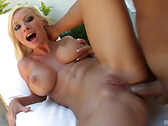 Helena Beloved adores when her friend cum on her tits after rough carnal knowledge